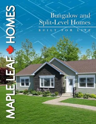 Maple Leaf Homes Bungalow Brochure