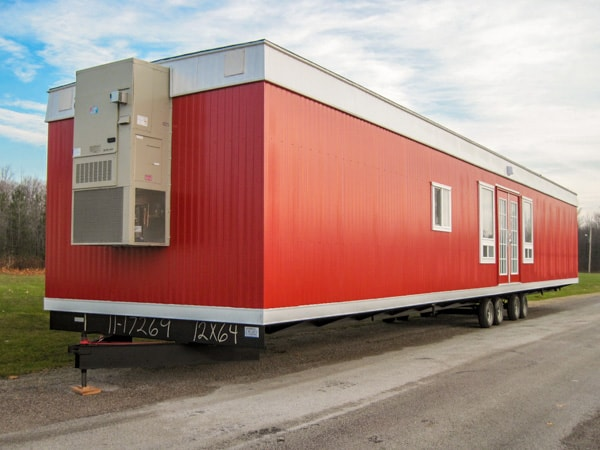 64 foot by 12 foot Lunchroom Custom Office Trailer