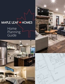 Maple Leaf Homes Planning Guide Brochure