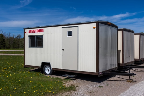 16 foot by 8 foot Construction Office Trailer